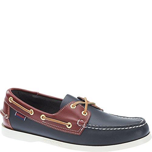 Men's Shoe Navy Red Sebago Spinnaker Boat pqS16z6