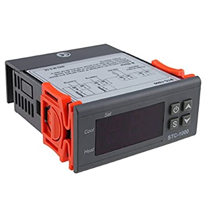 IMAGE® All-purpose Temperature Controller STC-1000 With 2M Cable Cooling/Heating