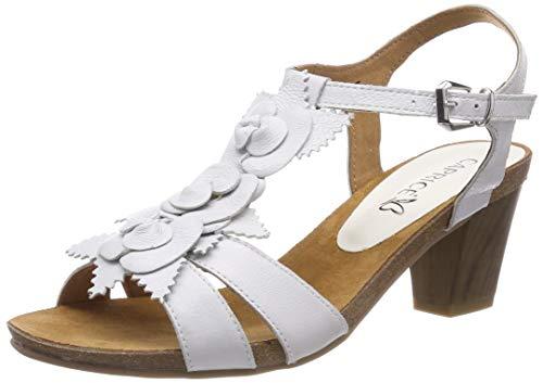 me Tacón sandali Caprice Blanco Su 28308 Aperto Tacco offwhite Scarpe Sandalia 22 Mujer Femminile 128 Estate Alto wIxSqgZ
