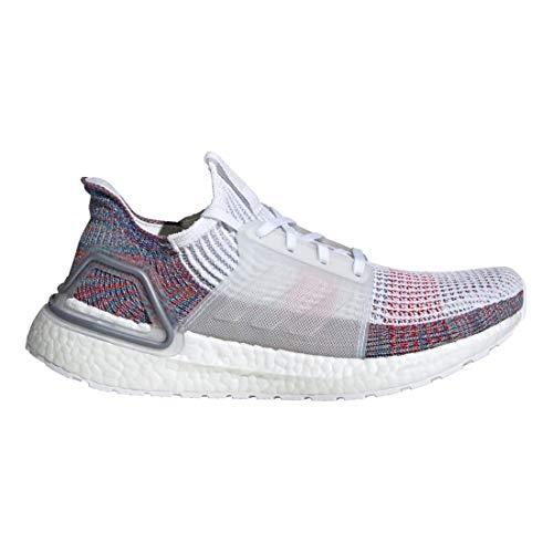 adidas Women's Ultraboost 19 Running Shoe - Color: Refract (Regular Width) - Size: 8.5 White