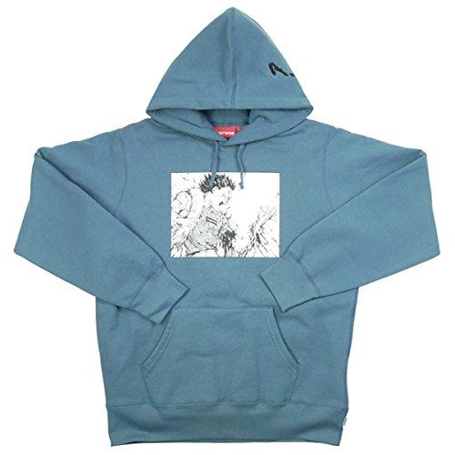 SUPREME シュプリーム ×AKIRA 17AW Arm Hooded Sweatshirt スウェットパーカー 水色 M 並行輸入品 B079SSJM1B