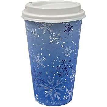 Amazon Com 16 Oz Paper Cup Hot And Cold Cup Coffee Cup