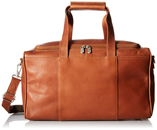 Piel Leather Traveler's Select Xs Duffel Bag, Saddle
