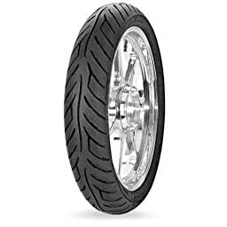 Avon Tyres Roadrider AM26 Tire - Front - 110/80V-17 , Position: Front, Tire Type: Street, Tire Construction: Bias, Tire Application: Sport, Load Rating: 57, Speed Rating: V, Tire Size: 110/80-17, Rim Size: 17 2265513