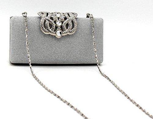 Shiratori - Bolso de mano para mujer dorado