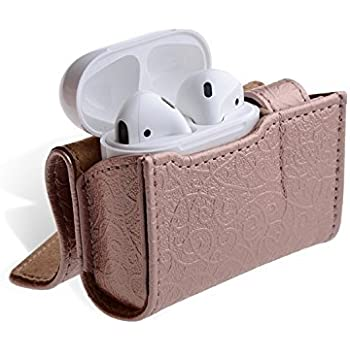 Amazon.com: Airpods Case, Thanksacase Embossed Pattern PU