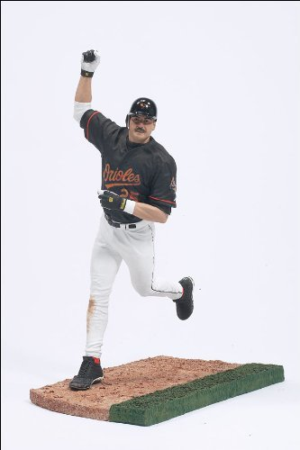 McFarlane Toys MLB Sports Picks Series 10 Action Figure Rafael Palmeiro (Baltimore Orioles) Black Jersey ()
