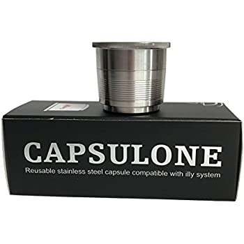 Amazon Com Capsulone Stainless Steel Refillable Capsule