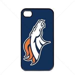 NFL American football Denver Broncos Fans Apple iPhone 6 4.7 TPU Soft Black or White case (Black)
