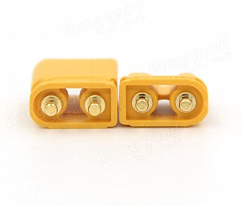 Quickbuying 20 Pairs Amass XT30 UPB 2mm Plug Male Female Bullet Connectors Plugs For RC Battery RC Helicopter Part