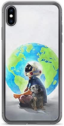 Compatible for iPhone 6 Plus/6s Plus Miracle Things: Boy and Dog