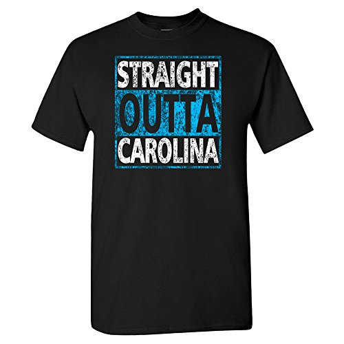 Charlotte Carolina Hometown Pride Shirt (XL) Black ()