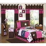 Sweet Jojo Designs 4-Piece Western Horse Cowgirl Children's Bedding Twin Set