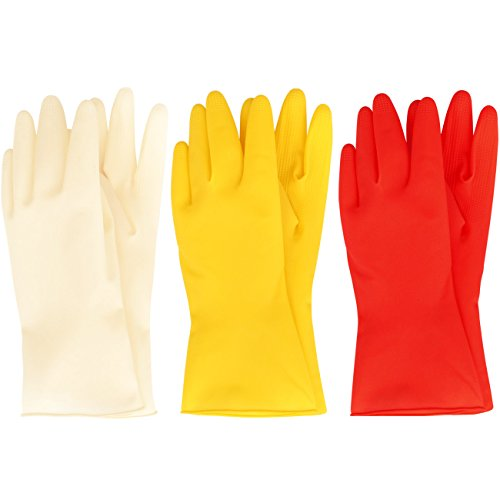 mj-3-pairs-household-short-mini-natural-rubber-cleaning-wash-gloves-l