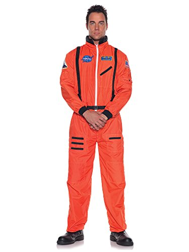 Underwraps Mens Astronaut Costume One Size (Womens Astronaut Costume)