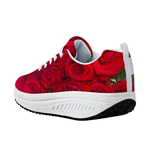 Fitness De Floral Conceptions Vintage Pour U Imprimé Rose Espadrille kXOPZiu