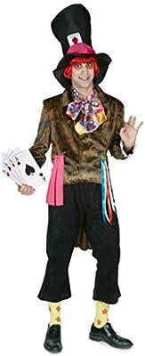 Disfraz sombrerero adulto. Talla 50/52.: Amazon.es: Juguetes y juegos