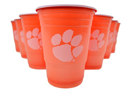 NCAA Beer Pong Set (Clemson Tigers)