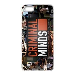QQQO Criminal Minds Fashion Comstom Plastic case cover For Iphone 5s