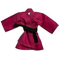 Kimono Kimoninho Judô Jiu Jitsu Bebê, Potinho de Mel, Rosa