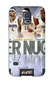DanRobertse Premium Protective Hard Case For Galaxy S5- Nice Design - Denver Nuggets Nba Basketball (33)