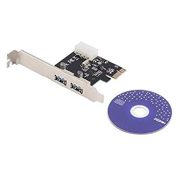Profesional LT106 Tarjeta PCI-Express PCI-E para USB 2.0 USB ...