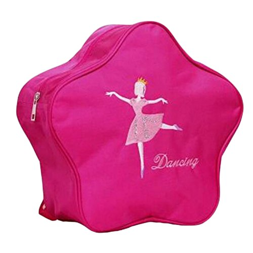 George Jimmy Kids Dance Bags School Bags Travel Backpack Girls Dancing Backpacks Bag Rose Red by George Jimmy