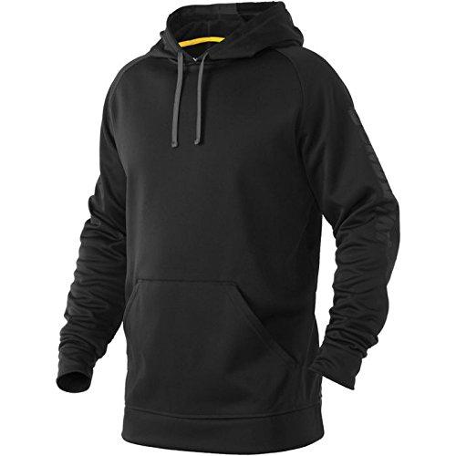 DeMarini Men's Fleece Hoodie, Black, X-Large