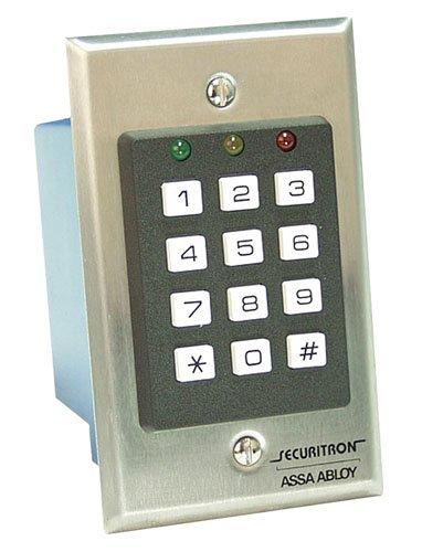 Securitron Single Gang Digital Keypad System, 59 User Code Capability