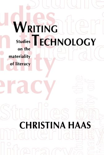 Writing Technology: Studies on the Materiality of Literacy by Routledge