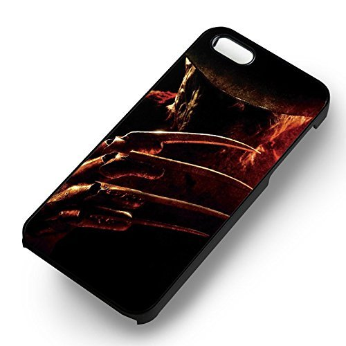 Halloween Freddy Krueger pour Coque Iphone 6 et Coque Iphone 6s Case (Noir Boîtier en plastique dur) Q5K1GL