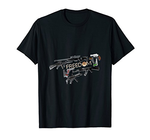- Freedom Rights to Bear Arms Second Amendment Shirt