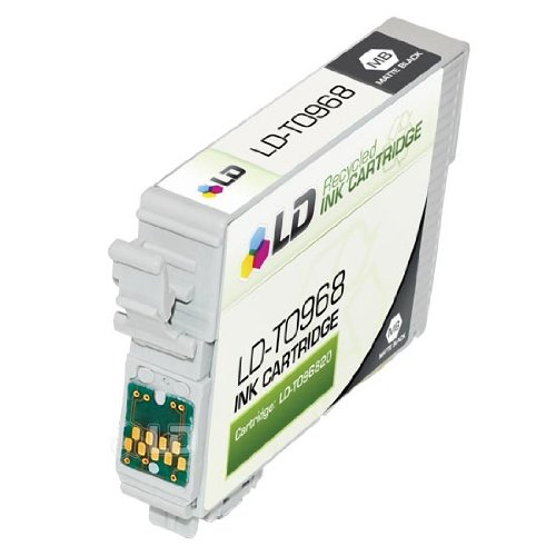 R2880 Matte - LD © Remanufactured Replacement for Epson T096820 (T0968) Matte Black Ink Cartridge for Stylus Photo R2880