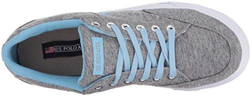 U.S. Polo Assn. Womens Lexie Grey Jersey/Blue lhcOS