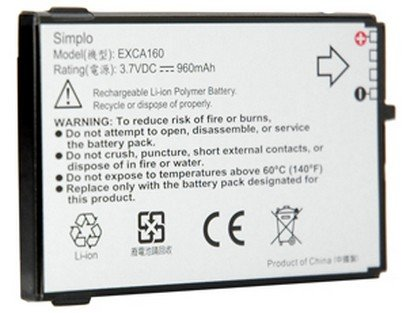 OEM HTC Dash S620 S621 Standard Battery 35H00080-00M