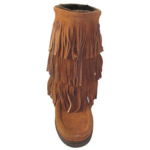 Manitobah Mukluks Women's Buffalo Dancer Snow Boot (Copper) (9) by Manitobah Mukluks (Image #1)