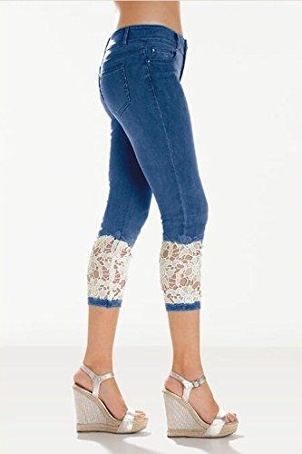 Femme Ybenlover Jeans Femme Bleu Jeans W36 W36 Bleu Ybenlover fBBYxq