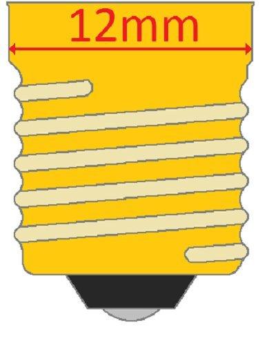 4-Pack 15 Watt Bulbs for Scentsy Plug-In Nightlight Warmer wax diffuser, 15W 120 Volt