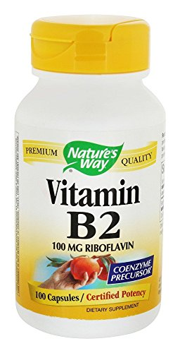 Nature'S Way B 2 100 Mg 100 Cap