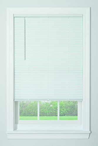 "Bali Blinds 1"" Vinyl Cordless Blind, 27x64"", White"