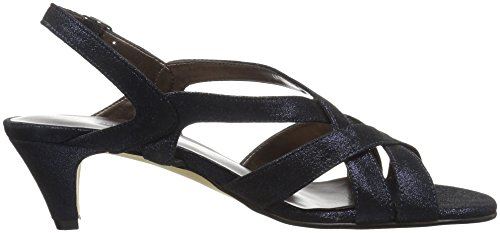 Women's Lassie Petals Walking by Cradles Dress Rose Navy Shimmering Sandal xq41OAwH