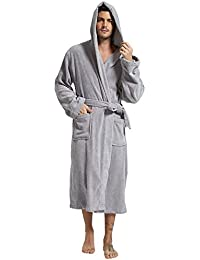 Mens Deluxe 100% Turkish Brushed Broadcloth Kimono Robe High Standard In Quality And Hygiene Sleepwear & Robes