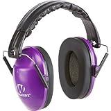 Walker's Game Ear Walker's Purple/White Folding College Muff