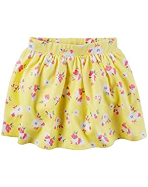 Baby Girls' Floral Skirt