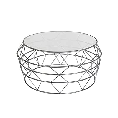 Git Mit Home H-1336 Coffee Tables, Glass - Hand crafted Easy to use Manufactured in India - living-room-furniture, living-room, coffee-tables - 41j6lBWa 4L. SS400  -