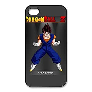 HD exquisite image for iPhone 4 4s Cell Phone Case Black vegetto dragon ball z Popular Anime image WUP8096729