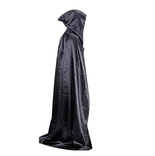Halloween,Vovotrade Adult Skeletons Death Cloak long Section Of Mopping The Floor Masquerade 150cm (Godzilla Inflatable Costume)