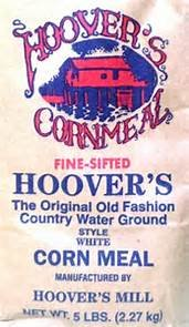 Hoovers Fine Water Ground Corn Meal (2/5lb Bags)