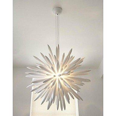 BL American style modern retro Pendant Lights 1 Light Modern White Metal and Wood ,(110V-120V)