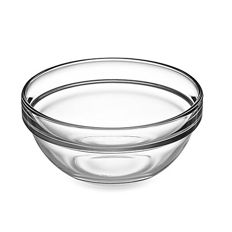 Mixing Bowl 4-3/4-Inch Stackable , Durable and versatile Great for everyday use | 12.58 oz. capacity | 6 Pcs by Luminarc